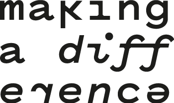 "Logo ""making a difference"""